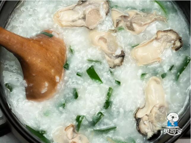 生蚝韭菜粥